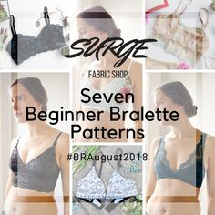 Outstanding 10 Sewing tutorials projects are offered on our internet site. Have a look and you wont be sorry you did. Sewing Blogs, Sewing Hacks, Sewing Tutorials, Sewing Tips, Dress Tutorials, Bralette Pattern, Bra Pattern, Swimsuit Pattern, Lingerie Patterns