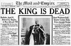 As he lay comatose on his deathbed in 1936, King George V was injected with fatal doses of morphine and cocaine to assure him a painless death in time, according to his physician's notes, for the announcement to be carried ''in the morning papers rather than the less appropriate evening journals.''  The fact that the death of a reigning monarch had been medically hastened remained a secret for half a century until the publication today of the notes made at the time by Lord Dawson, the royal…