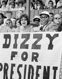 Resultado de imagen para dizzy gillespie for president