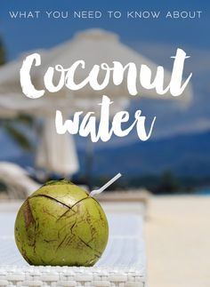 Everything you need to know about Coconut Water! Recipes, ideas, inspiration, and tips! Clean Diet Recipes, Delicious Recipes, Real Food Recipes, Healthy Recipes, Pure Coconut Water, Water Recipes, Food N, 21 Day Fix, Health And Beauty Tips