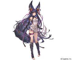Female Character Design, Cute Anime Character, Character Design Inspiration, Character Concept, Character Art, Granblue Fantasy Characters, Samurai Anime, Anime Lineart, Casual Art