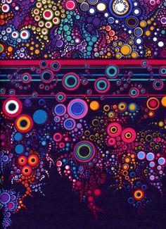 Effervescence Bright - Robert Kaufman - Half Yard by BywaterFabric on Etsy