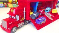 Cars 3 Disney Pixar Lightning McQueen Mack Hauler Travel Time Video for Kids Lightning Mcqueen, Time Travel, Disney Pixar, Toys, Gaming, Games, Toy, Beanie Boos