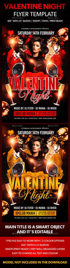 Night Vibes Flyer Template Night vibes and Flyer template - movie night flyer template