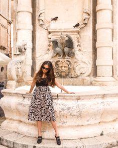📍 Valletta, Malta instagram.com/jessicaneistadt Malta, Travel Photos, Ootd, My Style, Floral, Inspiration, Instagram, Fashion, Biblical Inspiration