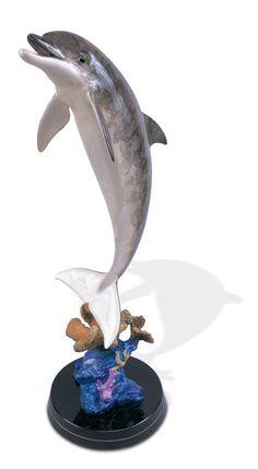 Bronze sculpture ~ Dolphin Dream by Wyland