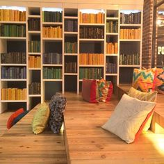 Lobby or library?