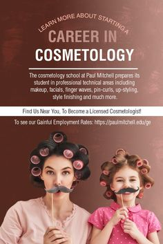 The cosmetology school at Paul Mitchell prepares its student in professional technical areas including #makeup, facials, finger waves, pin-curls, up-styling, style finishing and much more.