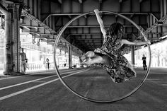 Courtney Giannone on cyr wheel photography Eraj Asadi / Movement <3
