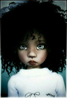 #negra #boneca #