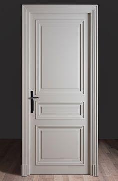 orte 3 ART DECO panels, lacquered with joint cover set … – Door Ideas Interior Door Styles, Door Design Interior, Home Decor Styles, Wood Interior Doors, Bedroom Door Design, Wooden Door Design, Wooden Doors, White Internal Doors, White Doors