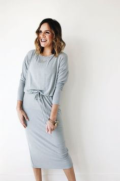 Seafoam Midi Dress | ROOLEE