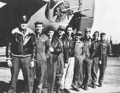 APR 4 1943 B-24 bomber 'Lady Be Good' takes off on first operation The ill-fated crew of the Lady Be Good, from the left: 1Lt. W.J. Hatton, pilot; 2Lt. R.F. Toner, copilot; 2Lt. D.P. Hays, navigator; 2Lt. J....