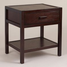 Dark Mahogany Chase Storage Platform Bed World Market New Room - World market bedroom furniture
