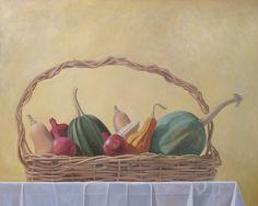 Edgar Soberon Homage a Caravaggio Oil on canvas  36 x 52 in 2015