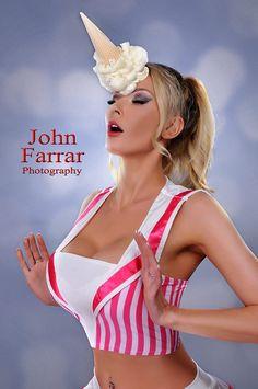 #icecream #unicorn #photography #JohnFarrar #model #uk #blonde #curves