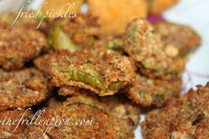 I like fried. I like pickles. I LOVE fried pickles. Vegetable Dishes, Vegetable Recipes, Vegetarian Recipes, Healthy Recipes, Quick Recipes, Power Air Fryer Recipes, Fried Pickles Recipe, Actifry Recipes, Healthy Munchies