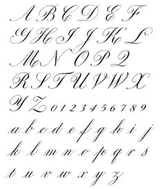 A Copperplate (English Roundhand) Exemplar