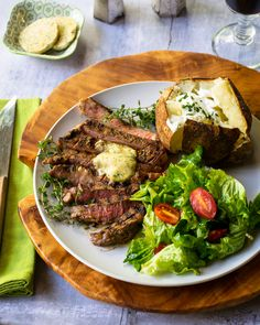 This smoke spiced grilled ribeye steak takes just an hour of marinating time and a few minutes of grilling and the result is a delicious steakhouse dinner. Rib Eye Recipes, Beef Recipes, Quick Recipes, Stovetop Grill Pan, Best Grilled Steak, Blue Jean Chef, Top Sirloin Steak, Ribs On Grill, Smoked Ribs
