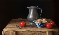 Herman Tulp | OIL | Still life with tomatoes