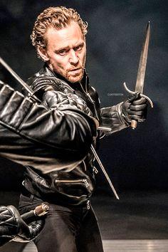 Tom Hiddleston as Hamlet at the RADA. Edit by clintbarton.tumblr