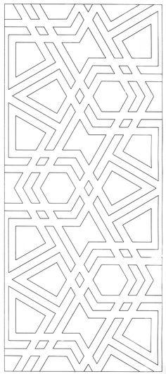 MAH 015 : The Design and Execution of Drawings in Iranian Tilework, Mahmood Maher al-Naqsh Geometric Designs, Geometric Art, Geometric Patterns, Textures Patterns, Islamic Art Pattern, Arabic Pattern, Stencil Patterns, Pattern Art, Zentangle Patterns