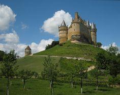Bannes castle, France