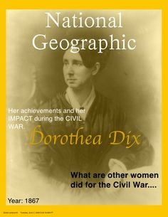 Im writing a research paper about Dorothea dix and i need help!?