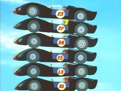 ... , it turned out that all of them were being set up by International Spies, Incorporated, who planned to kill both Speed and Racer X by wiring the Car Acrobatic Team's vehicles to explode. Description from thiel-a-vision.com. I searched for this on bing.com/images