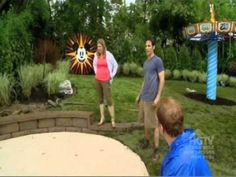 When we were featured on HGTV's My Yard Goes Disney. It was a great backyard and loved the sitting wall around the splash pad.