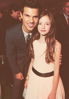 Taylor and Mackenzie at Breaking Dawn Part 2 premiere