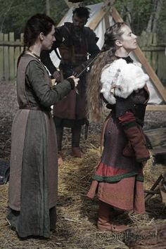 The women held a strong position in Viking society and were responsible for the farm when their men were abroad. The symbol of the powerful housewife was her keys, hung from her gown. If her husband took the keys from his wife, she could divorce him instantly, and keep their shared property. No women were forced into marriages, unlike most other cultures at that time.