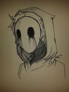 Eyeless Jack Drawing