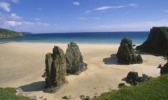 Garry Beach (Tolsta, Scotland) is found on the Isle of Lewis in the Outer Hebrides