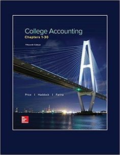 Intermediate accounting volume 1 canadian 7th edition beechy college accounting chapters 1 30 15th edition by john ellis price m david fandeluxe Gallery