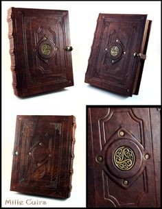 celtic_triskell_leather_book_by_millecuirs-d6l2rxf.jpg (2550×3300)