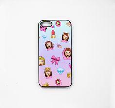 Princess Emojis iPhone Case 5/5S 5C 4S/4 — Kollage
