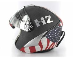HMR H2 ski helmet special edition. #ski #gear #men