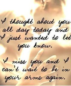 Military Spouse | missing you quotes for him | telling him/her how much he/she means to ...