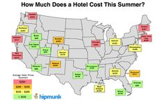It's no surprise that hotel rates increase in certain cities during summer months—but there are also some major summer hotel discounts to be found … if you know where to look. According to travel planning site Hipmunk, the average traveler in the U.S. spends $167 a night at a hotel during the summer months.