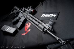 Ruger SR-556E and Ruger Mini-14 Tactical
