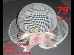 AULA 79 - CHAPÉU DE BATIZADO - 2ª PARTE
