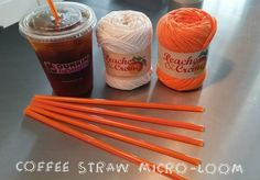 Picture of How to Make a Coffee Straw Micro Loom