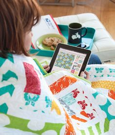 "Read about ""Quilting Swaps, Groups, and Bees via Social Media"" in the Summer 2014 issue of Quilt Trends Magazine, on sale now.  www.quilttrendsmag.com"