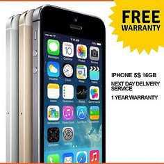 Apple #iphone 5s 16gb #factory unlocked sim free smartphone - #various colours,  View more on the LINK: http://www.zeppy.io/product/gb/2/291659119690/