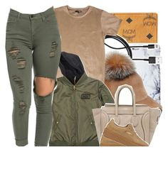 """"""""""" by beautifulme078 ❤ liked on Polyvore featuring MCM, PhunkeeTree, Lola, CÉLINE, Puma, women's clothing, women's fashion, women, female and woman"""