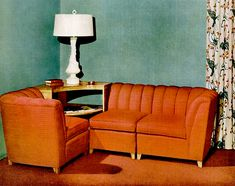 40s furniture piece - not sure why exactly but I LOVE the design! (not the color - just to be clear!)