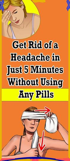 How To Relieve A Headache In Just 5 Minutes Without Any Pills