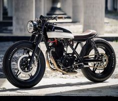 #Honda #ft500 #caferacer #Bratstyle