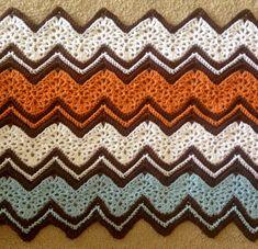 Crochet For Children: Ripple Beige Afghan - Free Pattern